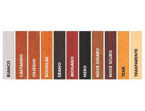 Come scegliere il colore perfetto per la tua copertura in legno